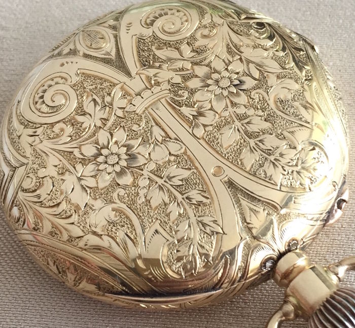 Henry Moser  pocket watch   - Unisex - 1900-1905