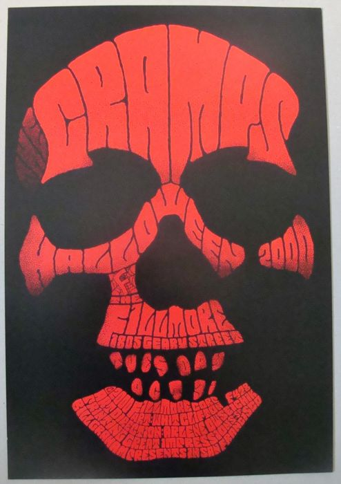The Cramps Fillmore Auditorium San Francisco 2000