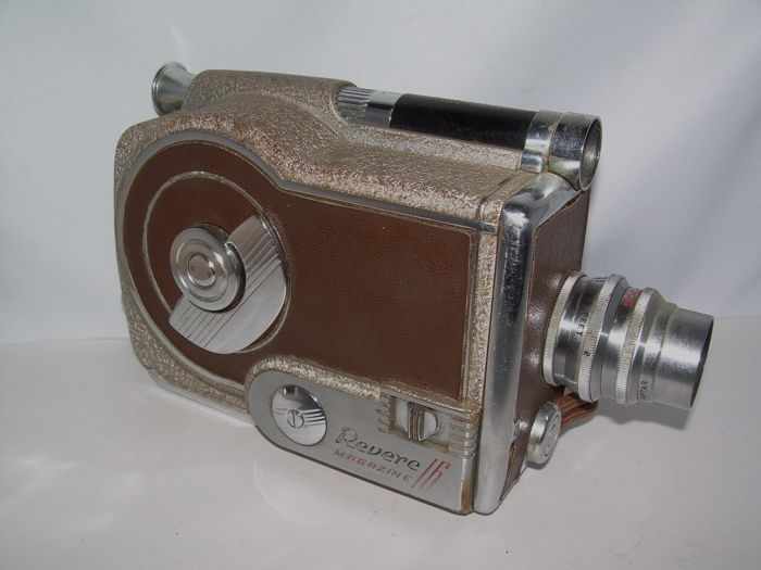 Special Movie Camera REVERE MODEL C16 Magazine 16