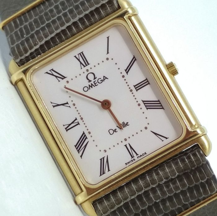 Omega - De Ville - NOS - goldplated - Men - 1982