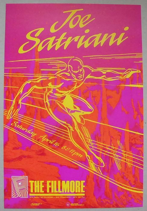 Joe Satriani Surfing With the Alien Fillmore Auditorium San Francisco 1988