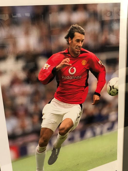 ae4fd43ec Ruud Van Nistelrooy Hand Signed Manchester United Photo - Catawiki
