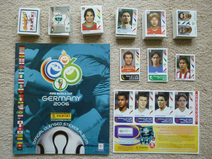 Panini - FIFA World Cup Germany 2006 - Leeg album + Complete losse set.