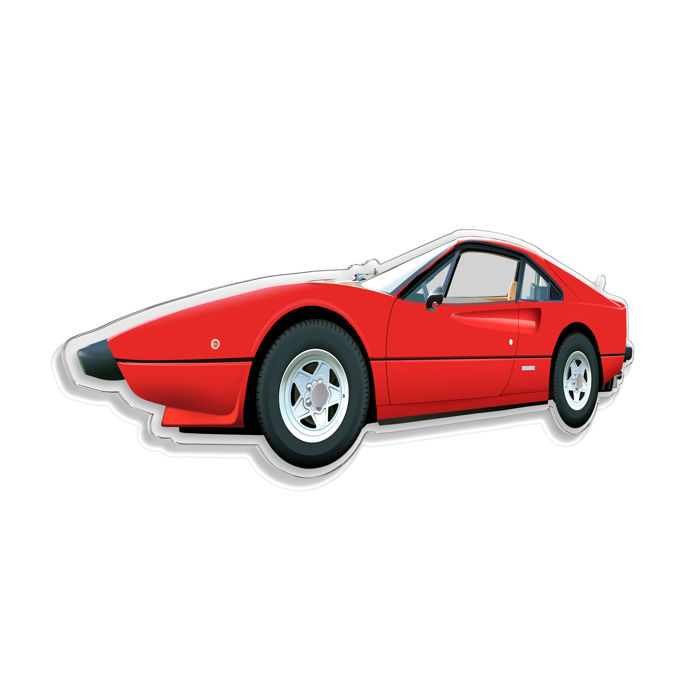 Decoratief object - SL-Halmo Collection Ferrari 308 coupè