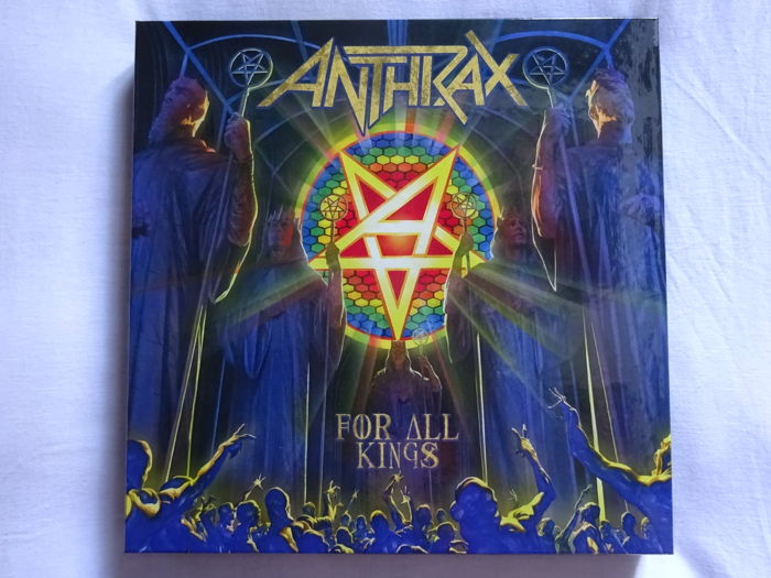 Anthrax : For all kings - Limited edition box - Nuclear Blast 2016