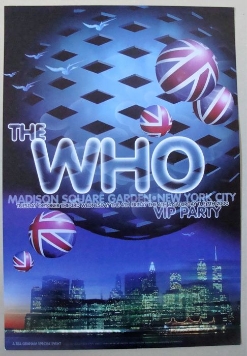 The Who VIP Party Madison Square Garden New York 2000 by Rex Ray