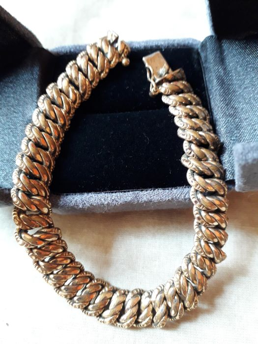 Murat Gold Plated Curb Chain Bracelet Catawiki