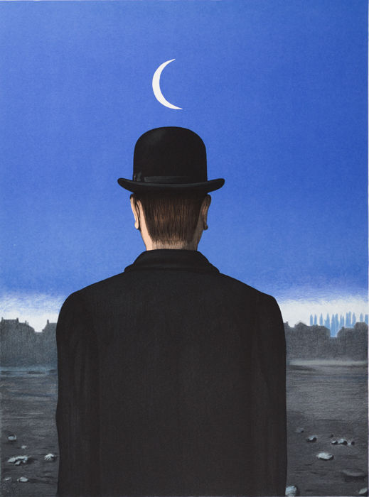 René Magritte (after) - Le Maître d'École (The School Master)