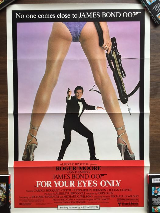 Bill Gold - James Bond - FOR YOUR EYES ONLY, Roger Moore
