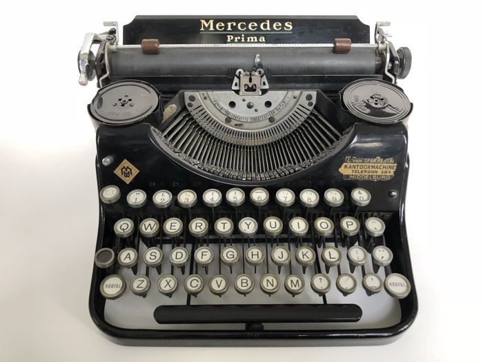 Mercedes Prima/Underwood Typewriter