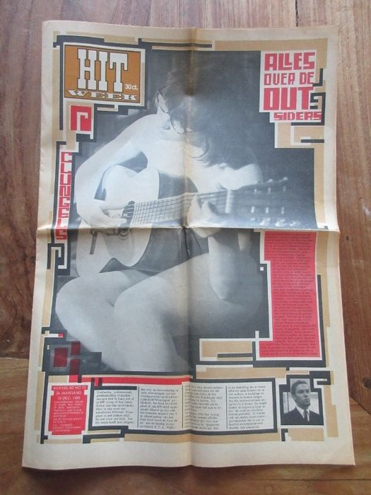 24 x Hitweek dutch music newspaper 1966