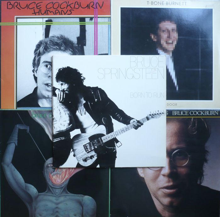 US and Canadian Singer Songwriter - Lot of 12 albums (WB, Columbia and other labels) 1975-1985 - various countries of press