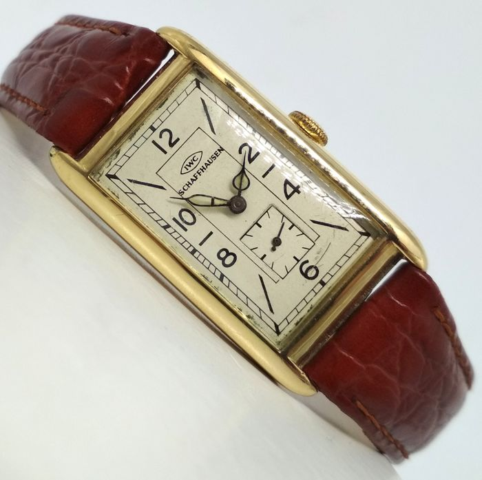 IWC - Tank - Art Deco  - Heren - 1930/31