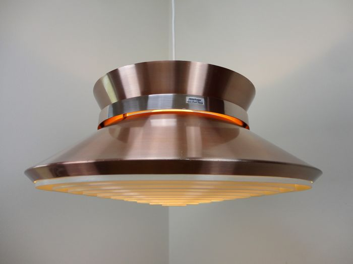Carl Thore / Sigurd 'Carl Thore' Lindkvist for Granhaga Metalindustri Sweden -  Ceiling light mid-century.