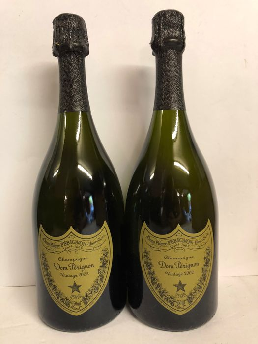 2002 Dom Perignon Vintage Brut - 2 bottles (75cl) in original 6er case