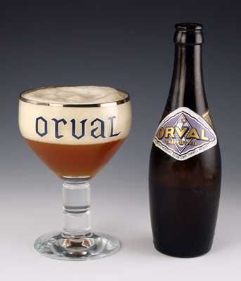 beautiful Orval Vintage wine glass