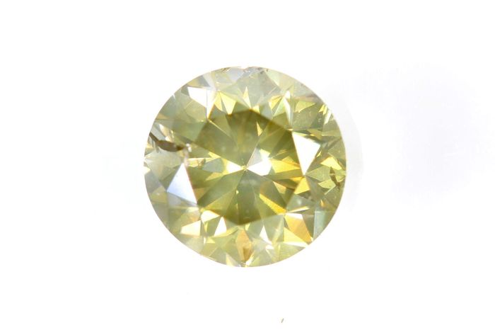 AIG Sealed Diamond - 0.70 ct - Fancy Brownish Yellow - SI2