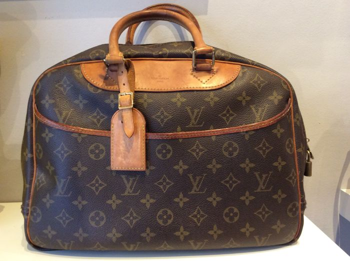 Louis Vuitton - Bowling Vanity Handbag
