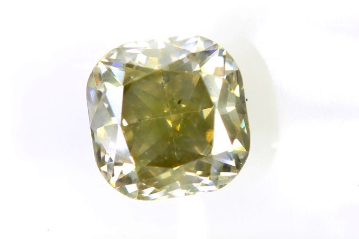 * NO RESERVE PRICE * -  AIG Sealed Diamant - 1.00 ct - Fancy Light Brownish Yellow - SI2