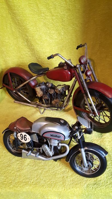 Norton race motor and unknown model