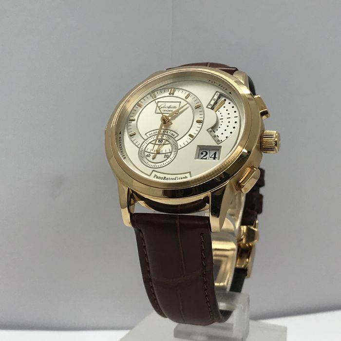Glashuette Original - Pano Retro Graph  - 60-01-03-03-06 - Men - 2011-present