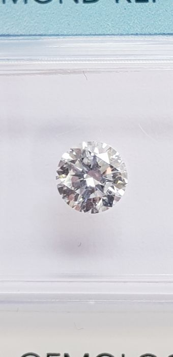 0.62 ct brilliant cut diamond E I.F.