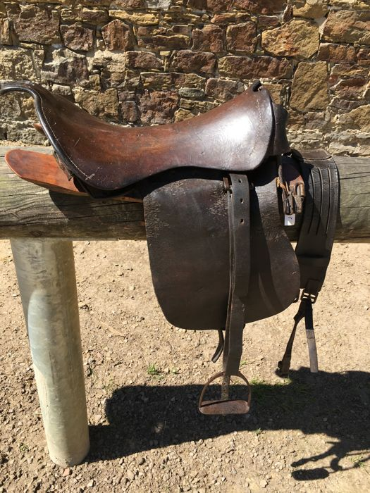 Officer's Saddle, France, 1850