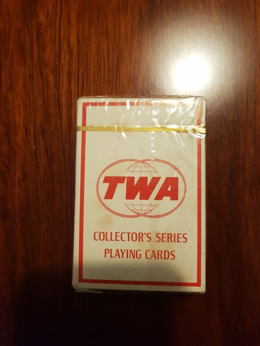 Playing cards; TWA