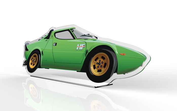 TAV-Halmo Collection Lancia Stratos Plexiglas Model