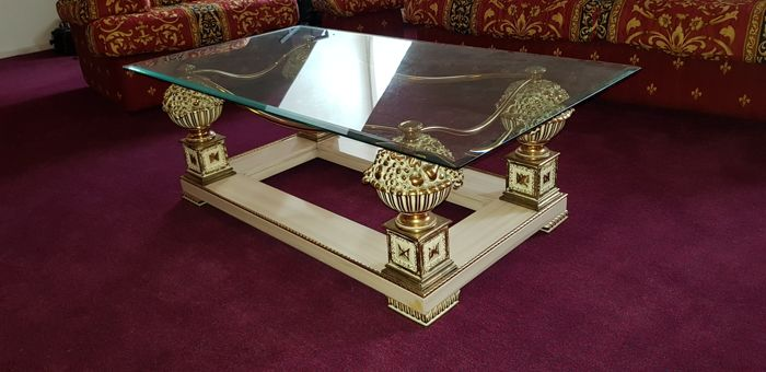 Unknown manufacturer - bronze coffee table