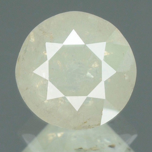 Natural Diamond, M color, I3 Clarity, ROUND BRILLIANT, 0.90 Carat