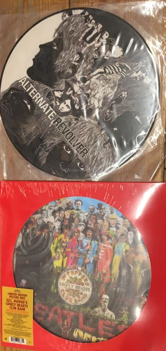 Two albums of The Beatles || Limited edition || Picture discs || Collector items