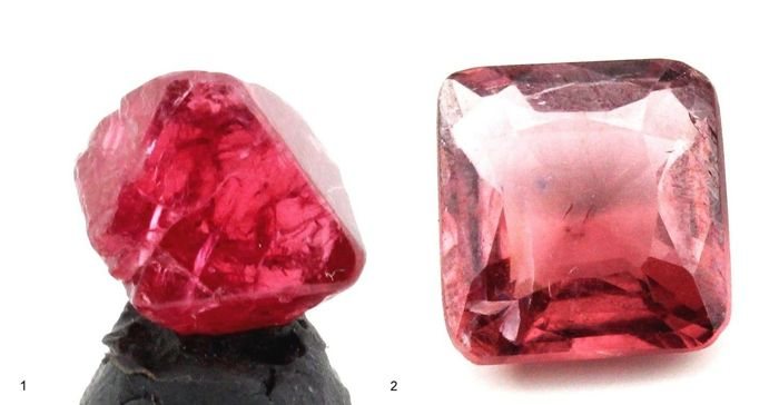 Natural spinel crystals - 5,60ct (2)