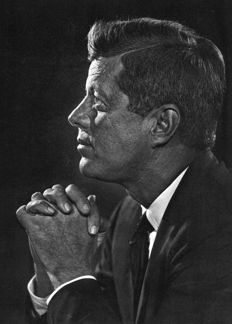 Yousuf Karsh (1908-2002)/Unknown - John F. Kennedy, 1957/1947