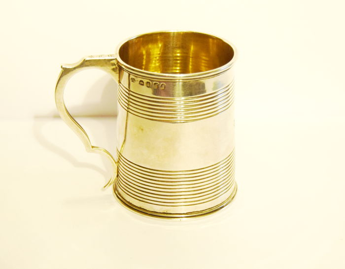 A George IV silver tankard - Joseph Angell (I) - London - 1821