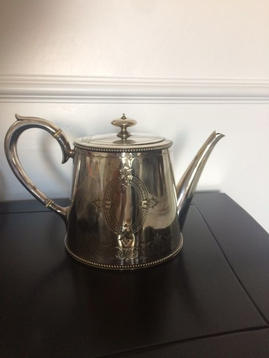 Antique English Teapot from 1880
