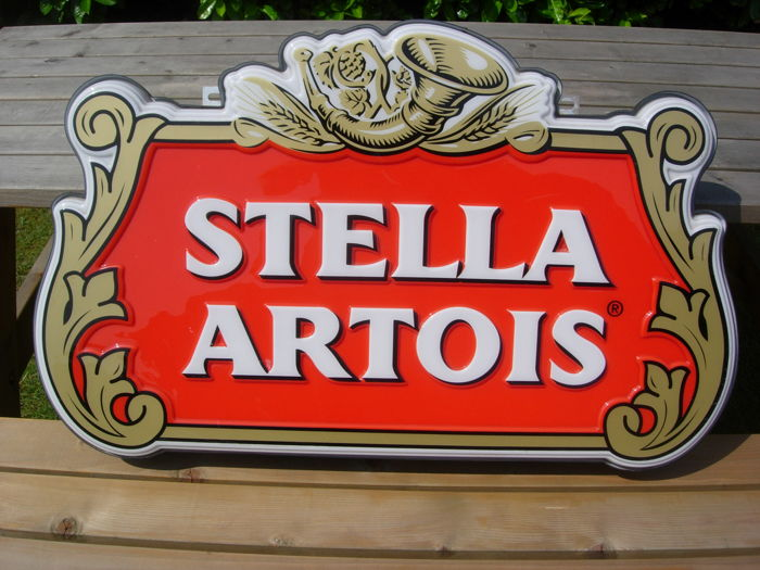 Illuminated advertising STELLA ARTOIS good condition