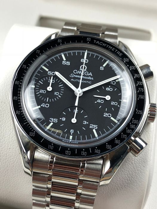 Omega - Speedmaster Reduced Chronograph Automatic - 35105000 - Heren - 2000-2010