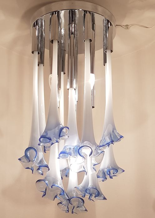 Charmant Ettore Fantasia And Gino Poli For Sothis U2013 Calla Lily Chandelier U2013 5 Lights