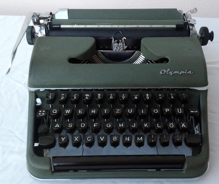 Olympia - the indestructible mechanical typewriter