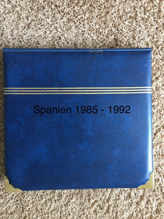 Spain 1985/1992 - Double-guided collection in the Anfil album