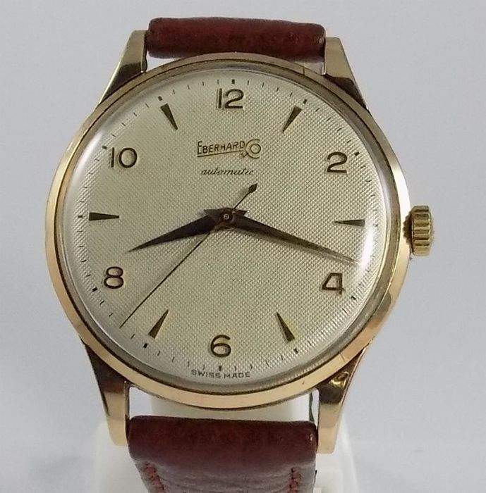 Eberhard & Co. - Texture Dial - Caliber 11500 - Men - 1950's