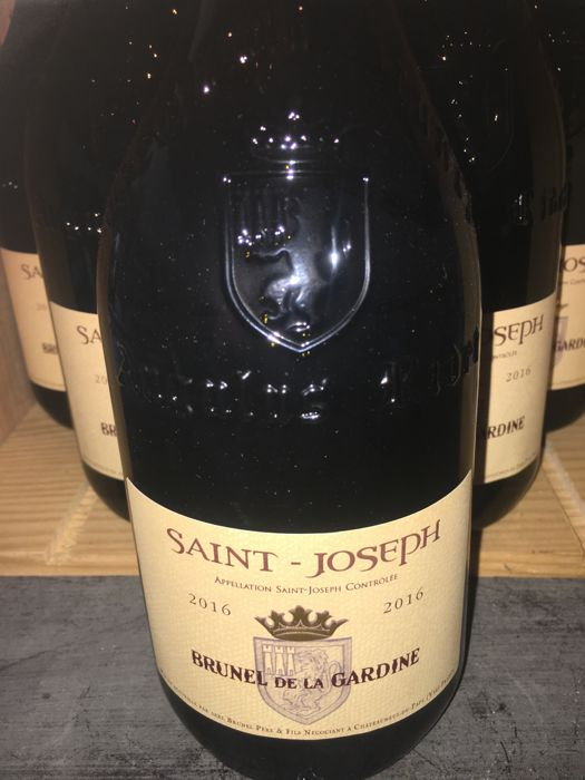 2016 Saint Joseph red - Brunel de la Gardine  x 6 bottles