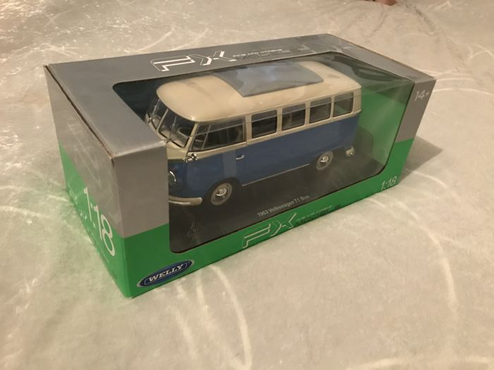 Welly - 1:18 - Volkswagen T1 bus 1963