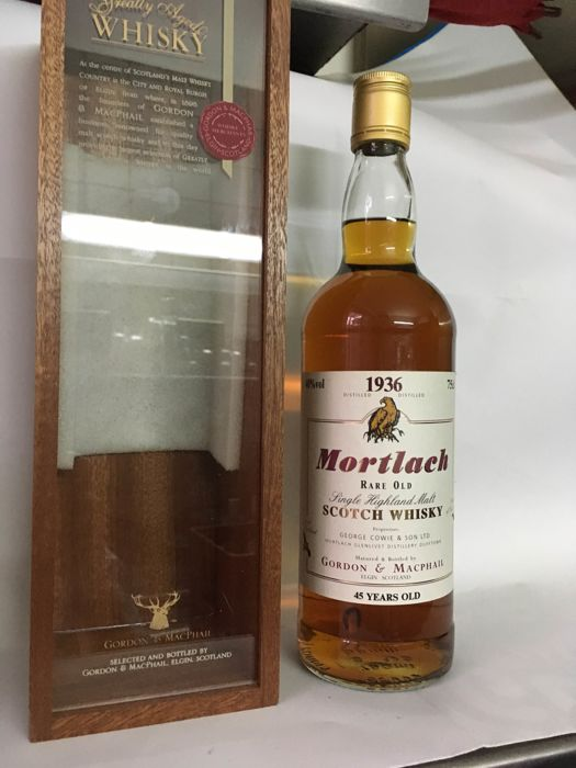 Mortlach 1936 45 years old - G&M