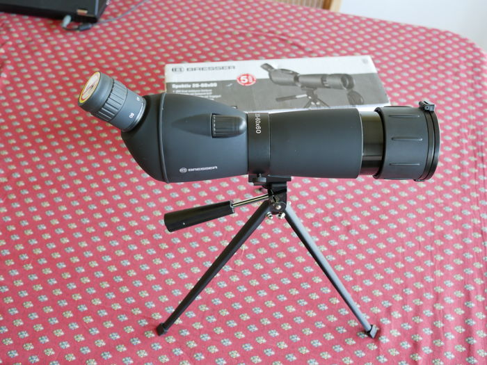Bresser spektive 20 60x60 spotting scope with table tripod catawiki