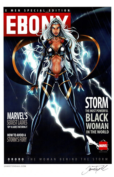 STORM - Magazine Cover - Jamie Tyndall - First edition
