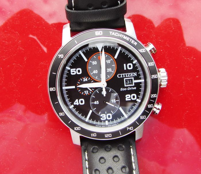 Citizen - Brycen Chronograph Drivers Eco Drive - CA0649-14E - Men - 2011-present