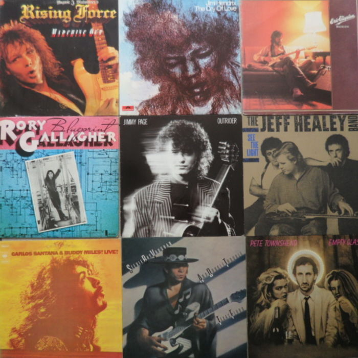 Guitar Herous : Jimi Hendrix , Jimmy Page , Rory Gallagher ...