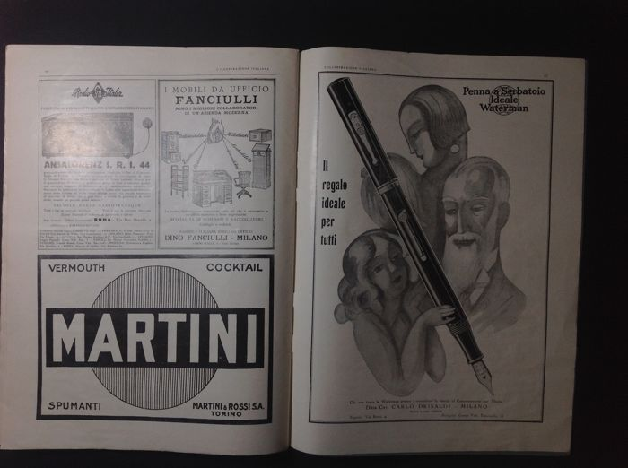 "Magazine ""l'illustrazione italiana"" 1930"